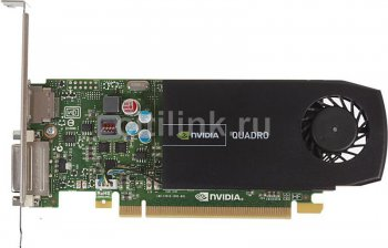 Видеокарта HP NVIDIA Quadro 410 512 Мб, 1 DVI-I, 1 DisplayPort, PCIe Express 2.0x16 Card (WS093AA)