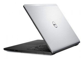 "Ноутбук Dell Inspiron 5748 Pentium Dual-Core 3558U/4Gb/500Gb/DVD-RW/Intel HD Graphics HD 4400/17.3""/HD+/Linux/silver/WiFi/BT/Cam"