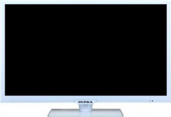 "Телевизор-LCD 21.5"" Supra S-LC22551FL Narrow frame white HD READY USB MediaPlayer (RUS)"