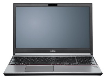 "Ноутбук Fujitsu LIFEBOOK E753 Core i3-3120M/4Gb/500Gb/DVDRW/int/15.6""/FHD/1920x1080/Win 8 Professional 64/black/BT4.0/FP/6c/WiFi/Cam"