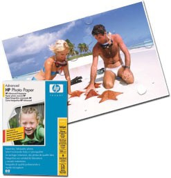 Бумага HP Q8692A 10x15 Advanced Photo Glossy, 250 g/m, (100 sheets)