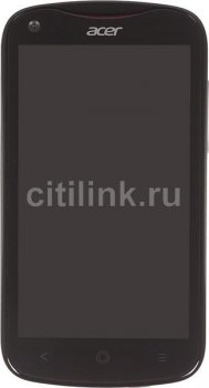 "Смартфон Acer Liquid E2 (V370) черный моноблок 3G 2Sim 4.5"" And4.2 WiFi BT GPS"