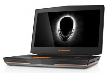 "Ноутбук Dell Alienware 18 i7-4910MQ (2.9)/16G/1T+256G SSD/18,4""FHD/NV Dual GTX880M 8G/BluRay/BT/Win8.1 (A18-9271) (Silver)"