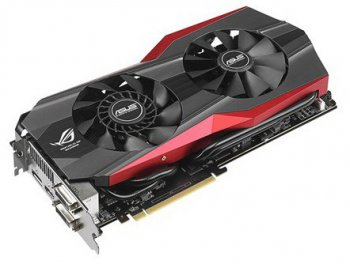 Видеокарта Asus PCI-E nVidia MATRIX-GTX780TI-3GD5 GeForce GTX 780TI 3072Мб 384bit GDDR5 928/7000 DVI*2/HDMI/DP/HDCP RTL