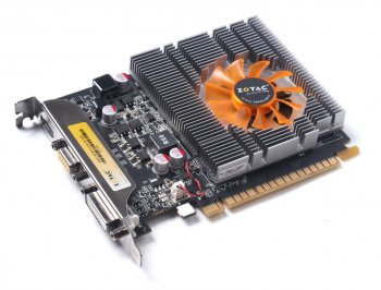 Видеокарта Zotac PCI-E nVidia GeForce GT 740 GeForce GT 740 2048Мб 128bit DDR3 993/1782 DVIx1/HDMIx1/CRTx1/HDCP Ret