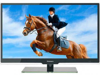 "Телевизор-LCD 32"" Rolsen RL-32E1301GU glass front black HD READY USB MediaPlayer (RUS)"