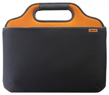 "Сумка для ноутбука 10"" Asus O2XYGEN black/orange + Mouse (90-XB3E00AP00010)"