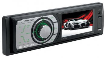 "Автомагнитола Prology DVS-1140 B/G TFT 3"" USB MP3 SD"