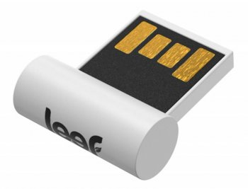 Накопитель USB 16GB <USB 2.0> Leef SURGE White