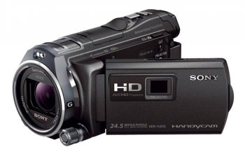 "Видеокамера Sony HDR-PJ810E black 1CMOS 12x IS opt 3"" Touch LCD 1080p 32Gb MS Pro Duo+SDHC Flash WiFi Проектор встр."