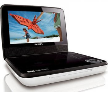 Плеер DVD Philips PD7030/51 черный