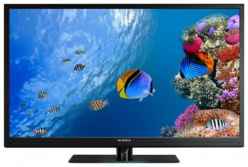 "Телевизор-LCD Supra 46"" S-LC46500FL Black FULL HD USB MediaPlayer (RUS)"