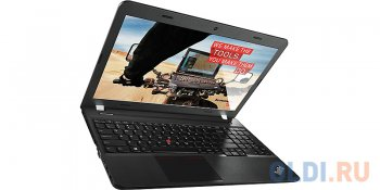 "Ноутбук Lenovo ThinkPad Edge E555 AMD A10-7300M (1.9)/8G/1T/15.6""HD AG/AMD R7 M260 2G/DVD-SM/BT/OneLink/DOS (20DH000XRT) (Black)"