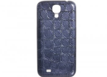 Чехол Samsung Fashion Cover S4/I9500 (F-BRFV000RBL) кож. Blue