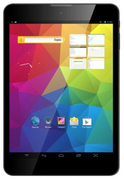 "Планшетный компьютер Texet X-pad STYLE 8 ТМ-7877 MT8382 2C A7/RAM1Gb/ROM16Gb/7.85"" IPS 1024*768/WiFi/BT/GPS/And4.2/saphire"