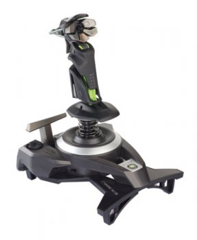 Джойстик Saitek Cyborg F.L.Y. 9 X-Box 360 Wireless Flight Stick CCB473250M02/02/1