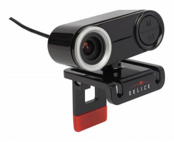 ВЕБ-камера OKLICK FHD-125M 1080P USB2.0 with microphone