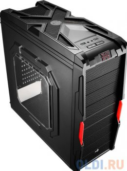 Корпус Aerocool Strike-X Coupe Window, ATX, USB 3.0, 600Вт , коннекторы 2x PCI-E (6+2-Pin), 4x SATA, 3x MOLEX, 1x 4+4-Pin
