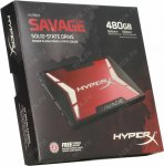 Твердотельный накопитель (SSD) Kingston SATA III 480Gb SHSS37A/480G HyperX Savage 2.5""