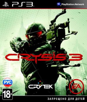 Игра для Sony PlayStation Crysis 3 русская версия (RUS)