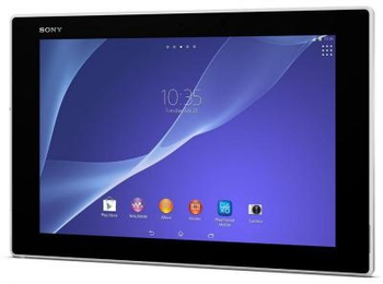 "Планшетный компьютер Sony Tablet Z2 801 (2.3) 4C QC/RAM3Gb/ROM16Gb/10.1"" IPS 1920*1200/3G/4G/WiFi/BT/GPS/And4.4/white"