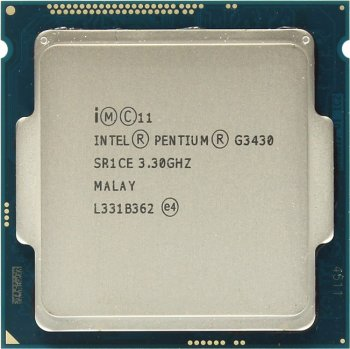 Процессор Intel Pentium G3430 BOX 3.3 GHz/2core/SVGA HD Graphics/0.5+3Mb/54W/5 GT/s LGA1150