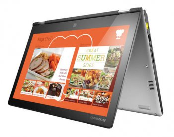 "Ноутбук Lenovo IdeaPad YOGA2-13 Core i3 4030U/4Gb/500Gb/SSD8Gb/13.3""/FHD (1920x1080)/Windows 8.1/silver/WiFi/BT/Cam 59422680"