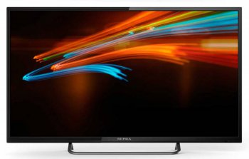 "Телевизор-LCD Supra 39"" S-LC40T800FL черный/HD READY/400Hz/DVB-T2/DVB-C/USB (RUS)"