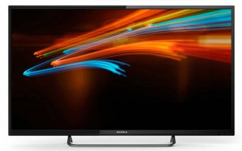 "Телевизор-LCD 32"" Supra S-LC32T800WL черный/HD READY/50Hz/DVB-T2/DVB-C/USB (RUS)"