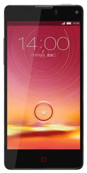 "Смартфон ZTE Nubia Z5S Mini черный моноблок 3G 4.7"" Android 4.3 WiFi BT GPS"