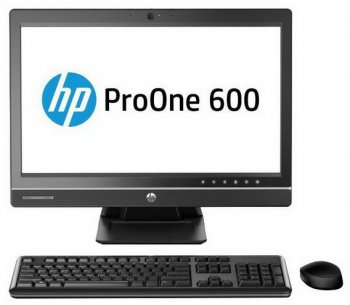 Моноблок HP ProOne 600 AIO P G3250/4Gb/500Gb/DVDRW/CR/Free DOS/клавиатура/мышь/Cam