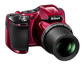 "Фотокамера Nikon CoolPix L830 red 16Mpix Zoom34x 3"" 1080p 59Mb SDHC SDXC CMOS 1x2.3 IS opt+el turLCD HDMI + сумкаAA"