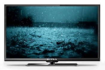 "Телевизор-LCD 32"" Supra S-LC32T400WL черный/HD READY/50Hz/DVB-T/DVB-T2/USB (RUS)"