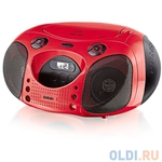 Аудиомагнитола BBK BX110U CD MP3 розовый