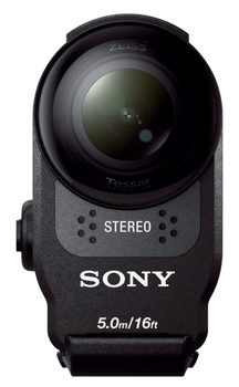Экшн-камера Sony HDR-AS200VT Набор с аксесс. 1xExmor R CMOS 8.8Mpix белый