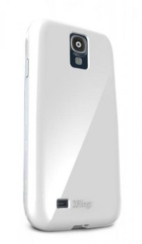 Чехол Ifrogz для Galaxy S 4 SoftGloss Cover белый (GS4SG-WHT)