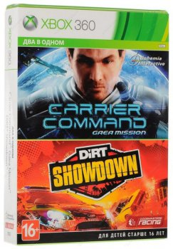 Игра для Xbox Carrier Command: Gaea Mission + DiRT Showdown