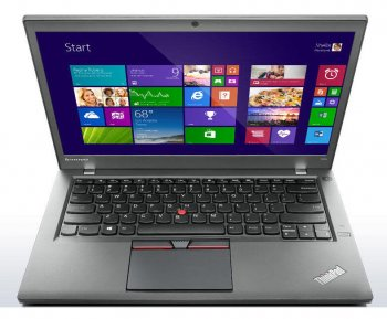 "Ноутбук Lenovo ThinkPad T450s Core i5 5200U/8Gb/SSD256Gb/Intel HD Graphics 5500/14""/FHD/4G/Windows 7 Professional 64 +W8.1Pro/black/WiFi/BT/Cam"