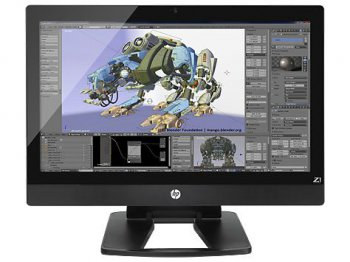 "Системный блок Моноблок HP Z1 27"" Xeon E3-1246v3 (3.6)/8Gb/SSD256Gb/HDG4600 2Gb/DVDRW/Windows 8.1 Professional dwnW7Pro64/клавиатура/мышь"