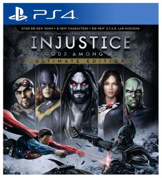 Игра для Sony PlayStation Sony Injustice Gods Among Us Ultimate Edition RUS (субтитры)