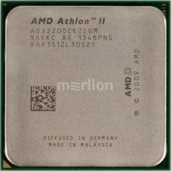 Процессор AMD Athlon II X2 220+ AM3 (ADX220OCK22GM) (2.8GHz/4000MHz) OEM