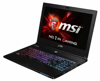 "Ноутбук MSI GS60 2QD(Ghost Pro 4K)-268RU Core i7 4720HQ/16Gb/1Tb/SSD128Gb/nVidia GeForce GTX 965M 2Gb/15.6""/UHD (3840x2160)/Windows 8.1 Single Languag"