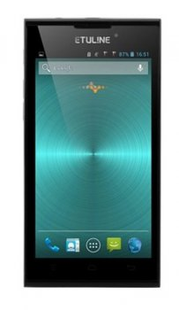 "Смартфон Etuline S4521C черный моноблок 3G 2Sim 4.5"" 854x480 Android 4.2 2.5Mpix WiFi BT GPS TouchSc MP3"