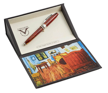 Коробка для ручки Visconti Van Gogh 2011 red (BOX-VAN GOGH)