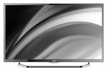 "Телевизор-LCD JVC 40"" LT40M640 черный/FULL HD/50Hz/DVB-T/DVB-T2/DVB-C/USB/WiFi/Smart (RUS)"