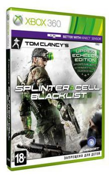 Игра для Xbox Tom Clancys Splinter Cell Blacklist Upper Echelon Edition (RUS)
