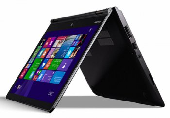 "Ноутбук Lenovo ThinkPad Yoga 14 Core i7 5500U/8Gb/1Tb/nVidia GeForce 840M 2Gb/14""/Touch/FHD/Windows 8.1/black/20DM003NRT"
