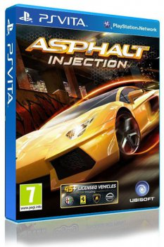 Игра для PS Vita Sony Asphalt Injection RUS (документация)