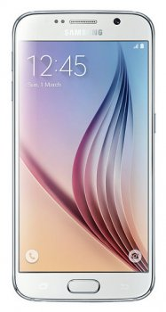 "Смартфон Samsung Galaxy S6 SM-G920F 32Gb белый моноблок 3G 4G 5.1"" 1440x2560 Android 5.0 16Mpix WiFi BT GPS GSM900/1800 GSM1900 TouchSc MP3 32Gb"