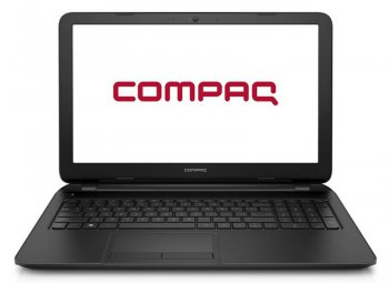 "Ноутбук Compaq 15-f102ur Celeron N2840/4Gb/500Gb/DVD-RW/Intel HD Graphics/15.6""/HD (1366x768)/Free DOS/black/BT/Cam/2620mAh"